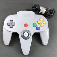 Nintendo 64 N64 NUS-005 Authentic OEM Gray Grey Controller Tested