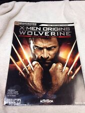 BRADYGAMES OFFICIAL GAME STRATEGY GUIDE BOOK XBOX X-men Origins
