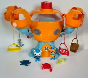 Working Octonauts Octopod Playset Figures Sea Creatures Accessories Bundle Toys