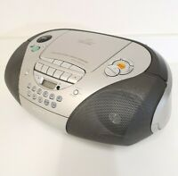 Sony CFD-S300L Boombox CD Radio Stereo Cassette Tape Player Excellent Condition