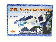 JOBLOT 40 X 10 Tazas y bomba de vacío cupping masaje Terapia Acupuntura aparato Reino Unido
