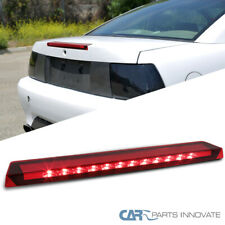 Fit Ford 99-04 Mustang V6/GT Bright LED Red 3rd Third Brake Light Stop Lamp