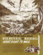 Le Tourneau Caterpillar War Effort Booklet 1943