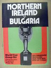 Teams A-B Bulgaria Football World Cup Fixture Programmes