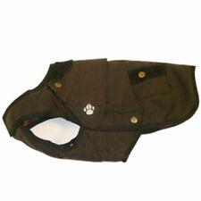 Danish Design Wharfedale Brown Waxed Waterproof Dog Coat
