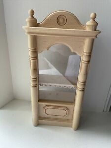 Vintage Bodo Henning? Shelf / Display Case with Plastic Barrier (2)