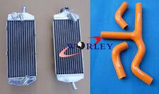 Aluminum Radiator& Hose FOR KTM 450SX 525SX 450/525 MXC/EXC 2003-2007 2004 05 06