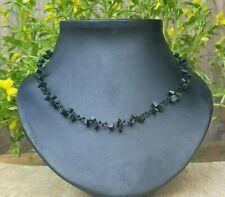 *Freedom Tree* Black Onyx Gemstone Necklace Hand Made Chakra /Healing