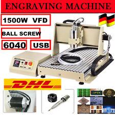 USB Laser Engraver 1.5KW 3 ASSI CNC 6040 Macchina Incisione per Metallo legno DE