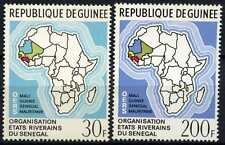 Guinea 1970 SG#717-8 Senegal Riparian States Meeting MNH Set #D58839