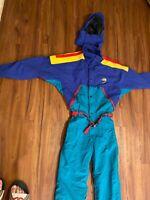 90s VTG THE NORTH FACE EXTREME One Piece Jumpsuit S Ski Suit GORE-TEX COLORBLOCK
