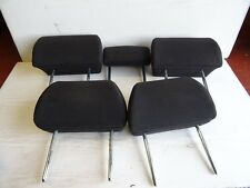FORD MONDEO MK3 00-07 HEADRESTS FULL SET IN BLACK CLOTH 5 DOOR