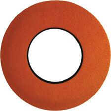 Small Round Ultrasuede Microfiber ORANGE Eye Cushion Viewfinder Eyecushion 2011
