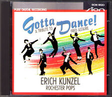 Erich Kunzel: Gotta Dance Tribute to Fred Astaire PORTER CAN-CAN Cheek to Cheek
