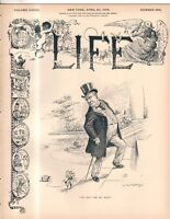 1899 Life April 20 - McKinley can't get rid of the beef scandal; Philippines war