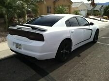 2011-14 Dodge Charger BLACK MATTE OEM Factory Style Spoiler Wing