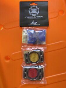 New Speedplay Pedal System XSeries V.2 Cleats (Fits X-Series X1 X2 X3 X5 Pedals)