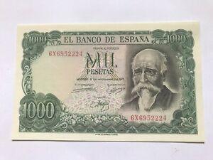 Spain 1000 Pesetas 1971, aUNC