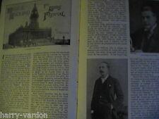 Leeds Music Festival Banana Farm Canary Islands Victorian Antique Article 1898