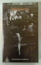Tina Turner Live in Amsterdam: Wildest Dreams Tour VHS 1996 PolyGram Music Video