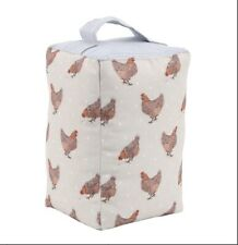 CGB Giftware Holly House Chicken Doorstop