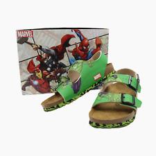 Birkenstock Marvel Incredible Hulk Mens Milano BS Leather Sandals UK 8 BNIB Rare