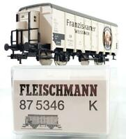 FLEISCHMANN 87 5346 HO AC 3 RAIL - GERMAN DB FRANZISKANER REFRIGERATED BEER VAN