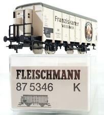 FLEISCHMANN 87 5346 HO AC 3 RAIL - GERMAN DB FRANZISKANER REFRIGERATED BEER VAN