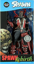 "McFarlane Toys Color Tops ~ ""HAMBURGER HEAD"" UNMASKED SPAWN FIGURE ~ Rebirth"