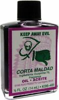 KEEP AWAY EVIL Ritual Oil Spell Wicca PAGAN Witchcraft 1/2 OZ Remove NEGATIVE