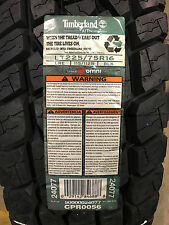 4 New LT 225 75 16 LRE 10 Ply Timberland A/T Tires