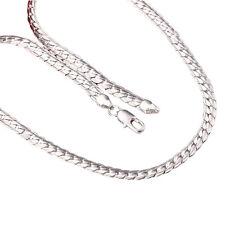 gioiello da Uomo Collana in argento Argentato Regalo Della per Catena Di Lui