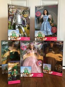 Barbie 'The Wizard of Oz' Complete Set Mattel 1999 Tommy NIB