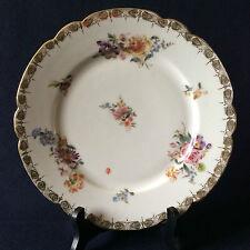 Assiette porcelaine de Paris  Louis-Philippe circa 1840 ...France