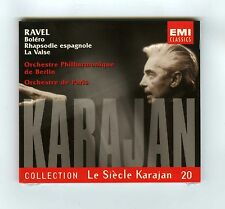 RAVEL CD (NEW) VOL 20 LE SIECLE KARAJAN BOLERO VALSE RHAPSODIE ESPAGNOLE