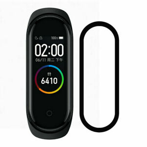 For Xiaomi Mi Band 4 Smartband 3D Anti-Scratch Full Cover Screen Protector