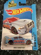 Hot wheels 2014 Dodge Charger Drift Car Long Card