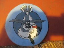 WWII USAAF BUGS BUNNY BOMBARDIER SCHOOL BIG SPRINGS TEX  FLIGHT JACKET PATCH