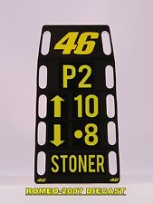 1:12 Pit board - pitboards Valentino Rossi-Stoner Ducati no minichamps RARE
