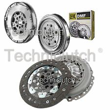 2 PART CLUTCH KIT AND LUK DMF FOR VAUXHALL TIGRA TWINTOP CONVERTIBLE 1.3 CDTI