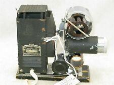 Sve Model Q 1940's Vintage Film Strip Projector With Case
