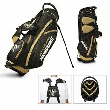Brand New Team Golf Nhl Pittsburgh Penguins Fairway Stand Bag 15228