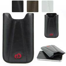 Synthetic Leather Slimline Protective Pouch Case for Smart-Phones EIP4BQ-4