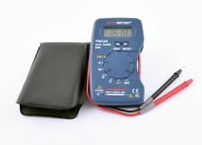 M320 Mini Digital Taschenmultimeter Peakmeter DCV/ACV/DCC/ACC/Ohm/Cap/Hz 110g