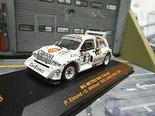 Mg Austin Metro 6r4 talla B Rally 1000 Lakes 1986 #8 Eklund Clarion Ixo 1:43