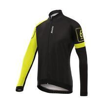Santini Yellow 2017 Gavia Windstopper Long Sleeved Cycling Jersey