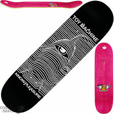 "TOY MACHINE ""Know Pleasure"" Skateboard Deck 8.5"" x 32.25"" Park Joy Division"