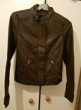 Gorgeous Hollister Faux Leather Perfectly Tailored Jacket, size S - VGC