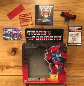 Autobot Scientist Perceptor -Transformers G1 - Box with Instructions/Accessories