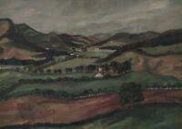 Hansl BOCK 1893 - 1973 - Hügelige Landschaft